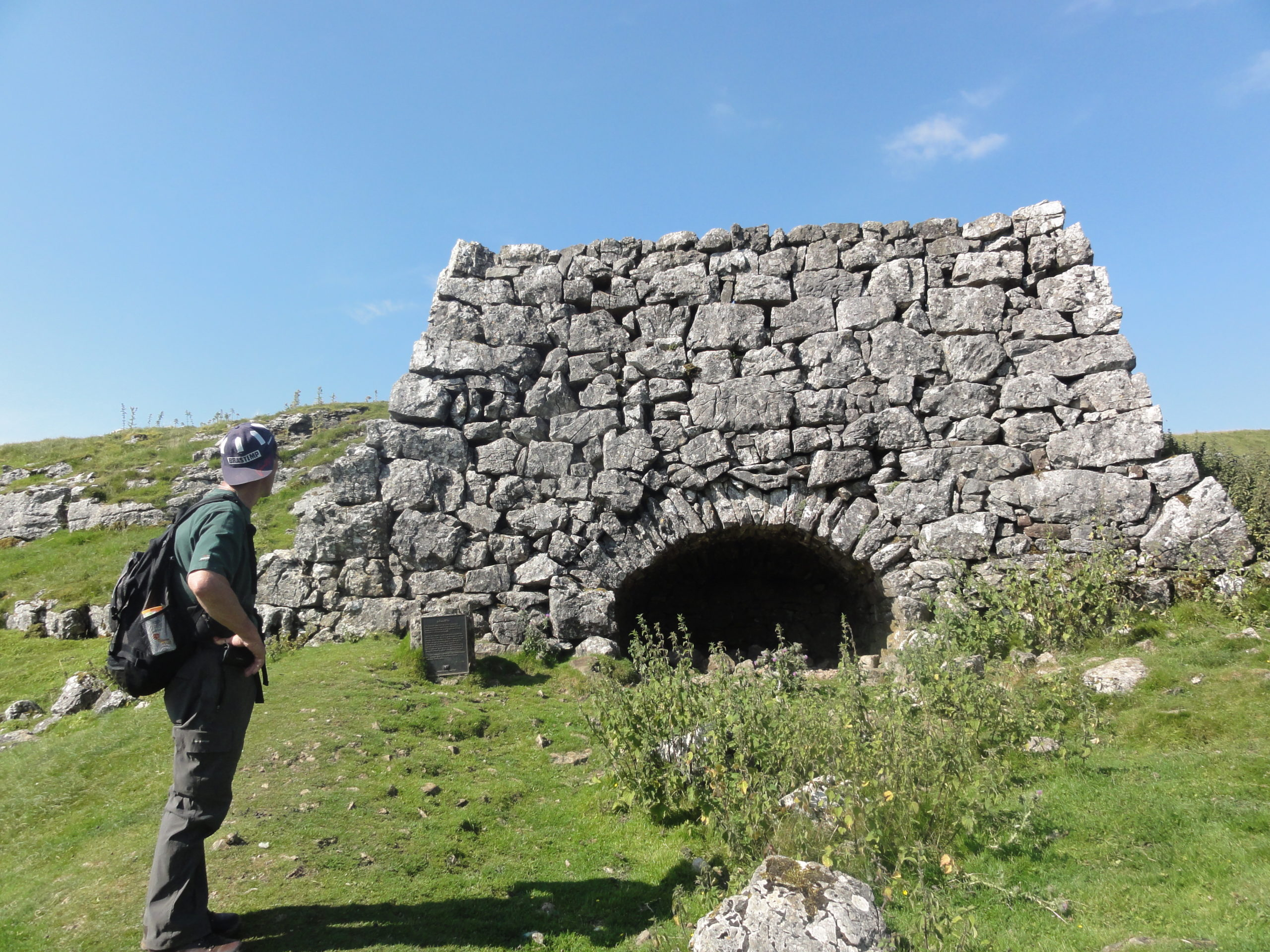 Old Lime Kiln above Conistone Dib