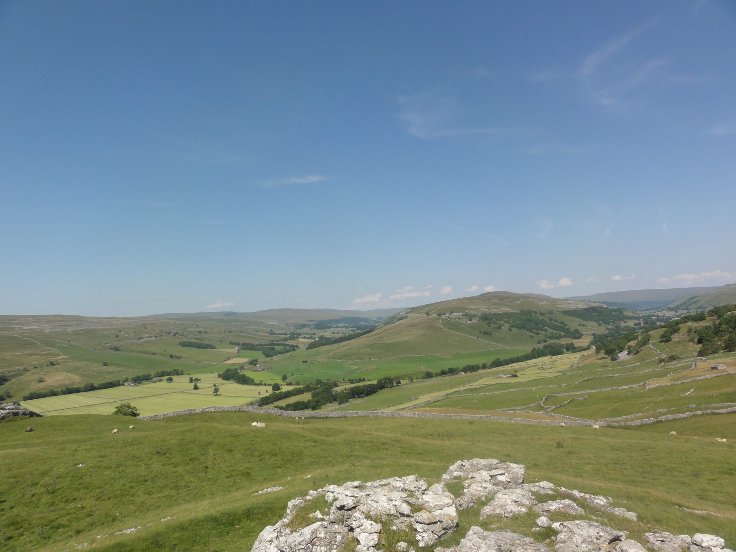 Looking towards Littondale