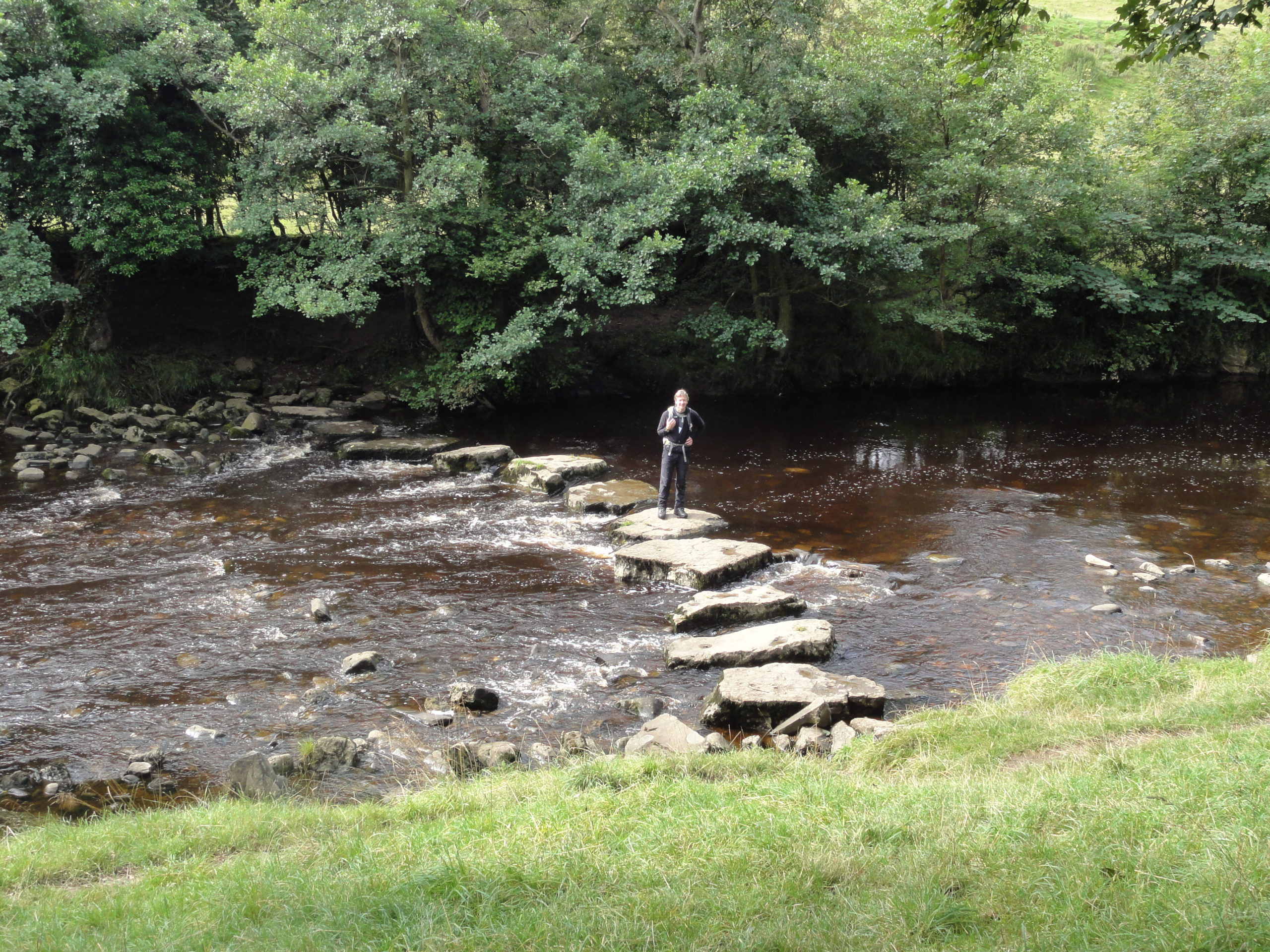 Stepping stones on the River Cover