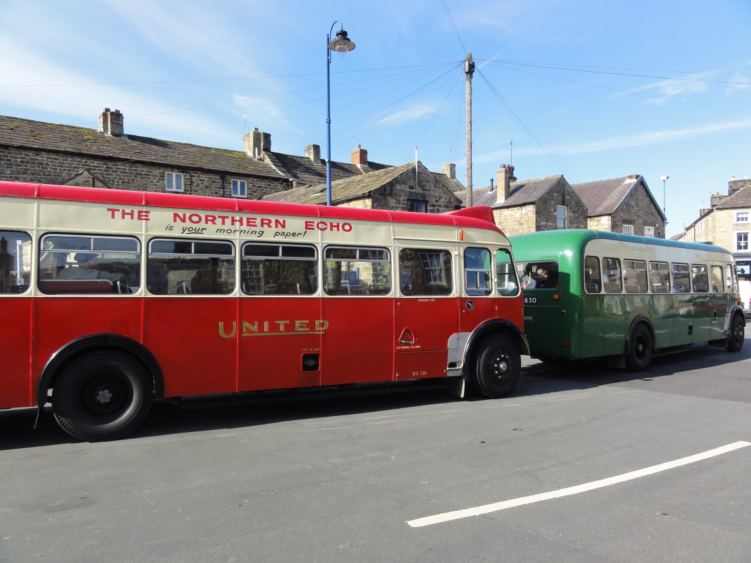 Vintage bus from Ripon to Hawes