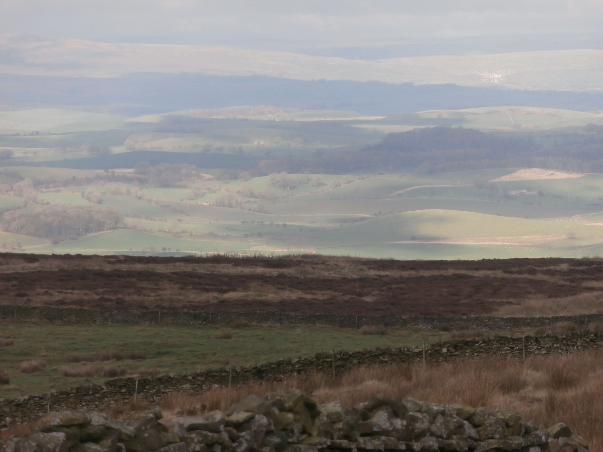Gods own country – Yorkshire in the distance