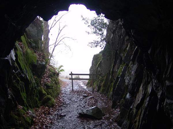Entrance to Cathedral Cave